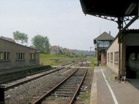 Bahnsteigseite Dorndorf