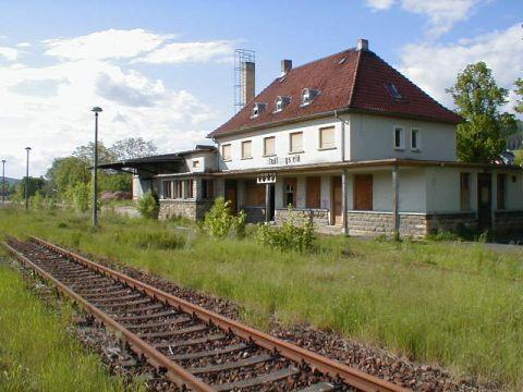 Vorderseite Bahnhof Stadtlengsfeld