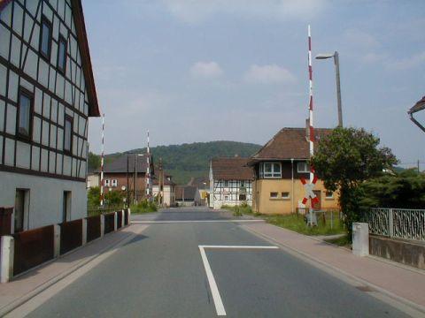 Bahnübergang Dorndorf