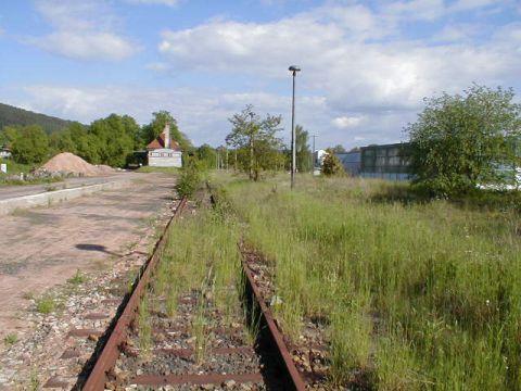 Güterbahnhof Stadtlengsfeld
